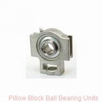 1.9375 in x 5.76 to 6.68 in x 1.94 in  Dodge P2BSCEZ115-SHCR Pillow Block Ball Bearing Units