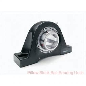 2.6875 in x 8-1/2 to 9-1/2 in x 2.33 in  Dodge P2BSCM211 Pillow Block Ball Bearing Units