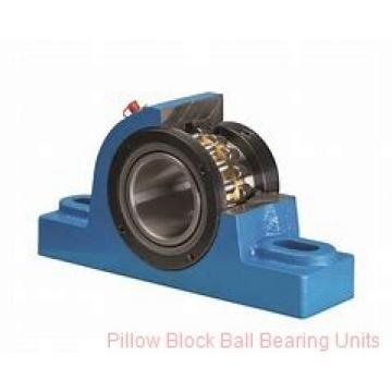 2.4375 in x 6.88 to 7.94 in x 2.31 in  Dodge P2B-SCBAH207 Pillow Block Ball Bearing Units