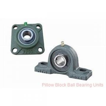 1.5000 in x 5.18 to 5.88 in x 1.94 in  Dodge P2BVSCB108 Pillow Block Ball Bearing Units