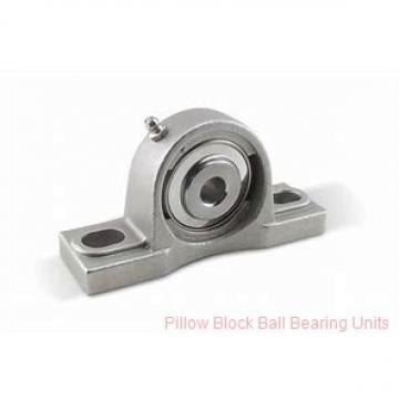 0.7500 in x 3.38 to 4.19 in x 1-7/32 in  Dodge P2BSXVB012 Pillow Block Ball Bearing Units