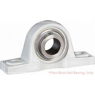1.3750 in x 4.68 to 5.44 in x 1.53 in  Dodge P2BSXVB106 Pillow Block Ball Bearing Units