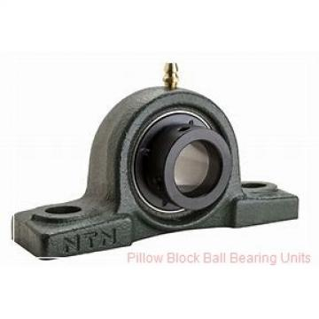 0.7500 in x 3.38 to 4.19 in x 1.23 in  Dodge P2BSC012-NL Pillow Block Ball Bearing Units
