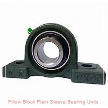 Climax Metal Products F2PS-BR-075 Pillow Block Plain Sleeve Bearing Units