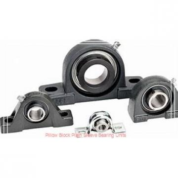 7-1/2 in x 19-3/8 to 20-5/8 in x 15 in  Dodge P4BBZR708 Pillow Block Plain Sleeve Bearing Units
