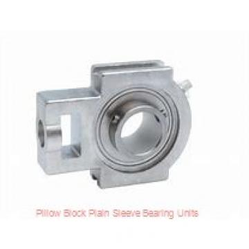 8 in x 20-11/16 to 22-5/16 in x 16 in  Dodge P4BBZA800 Pillow Block Plain Sleeve Bearing Units