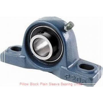 Climax Metal Products PBPS-BR-100 Pillow Block Plain Sleeve Bearing Units